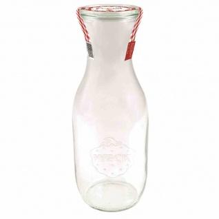 """Saftflasche """" Einkochwelt"""" 1, 0 l mit Deckel 60 mm"""
