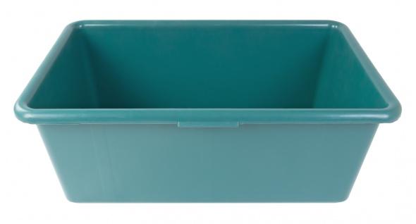 Mörtelkasten 80 Liter grün Baukübel Zementkübel Schuttwanne Maurerfass Baueimer