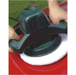Auto-Poliermaschine 240mm + 2 Hauben Autopflege Lackpflege Polierer Poliergerät - Vorschau