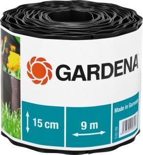 Gardena Beeteinfassung 532 Braun15cm