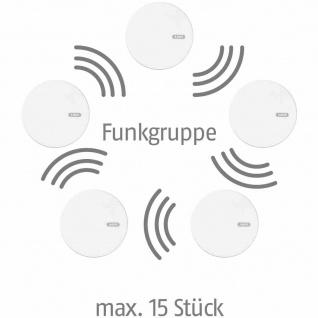 Funk Rauch-/Hitzewarnmelder RWM 450 Rauchmelder Sicherheitstechnik Haushalt TOP