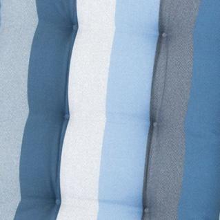 MADISON SESSELAUFLAGE Auflage PHOSF309 Hoch Victoria Blue