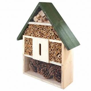Insektenhotel 40x28x9cm Fichte/Bambus Insektenvilla Insekten Vogelhaus Terrasse
