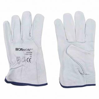 Fahrerhandschuhe Gr. 10 Rindleder Handschuh Arbeitshandschuhe Sicherheit Schutz