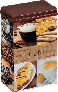 KESPER Kaffeedose 38205 Kaffee - Dose Eckig
