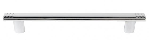 Möbelgriff 160mm Chrom Schubladengriff Küchengriff Schrankgriff Türgriff