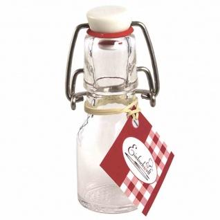 Bügelflasche rund 50 ml mit Bügelverschluss