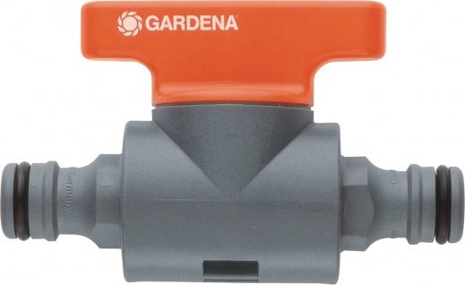 Gardena Kupplung mit Regulierventil 976-50 Kupplg M.reg-vent.1/2