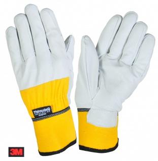 Thermo-Arbeitshandschuhe 3M Thinsulate Lederhandschuhe Handschuhe Montage Winter