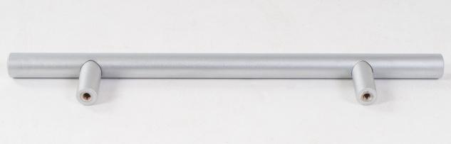 Möbelgriff 200mm Chrom-matt Schubladengriff Küchengriff Schrankgriff Türgriff - Vorschau 3