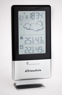 Ultranatura Wetterstation UN 900 Funkuhr und externem Thermo-Hygro Sensor