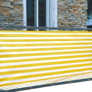 Balkonsichtschutz 5m Windschutz Balkonverkleidung Sichtschutzmatte Sichtschutz - Vorschau 3