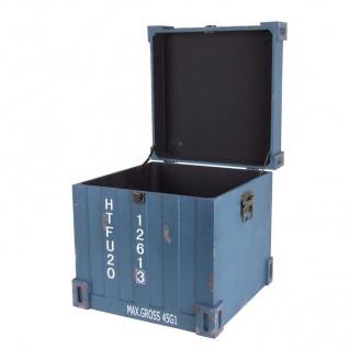 Truhen-Set 3tlg. Container Design Aufbewahrungskiste Holzkisten Dekokisten Truhe - Vorschau 5
