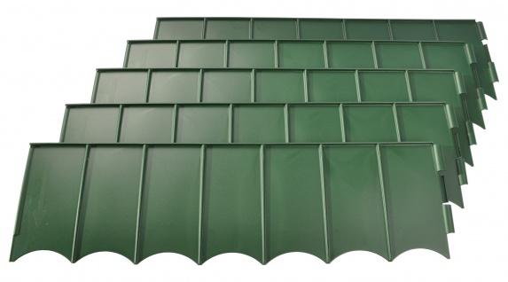 Rasenkante grün Beeteinfassung Mähkante Beetumrandung Raseneinfassung 2, 7 m neu