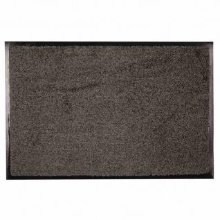 Fußmatte Zanzibar grau 90x150 Schmutzfangmatte Tür Matte Fußabtreter wohnen TOP