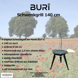 Schwenkgrill 140 cm der Marke Buri ®