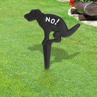 Gartenstecker Keine Hundetoilette Gusseisen Beetstecker Gartendeko Hinweisschild
