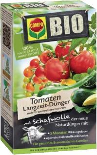 COMPO Bio Tomaten Langzeit-Dünger 20297 TomatendÜnger 750g