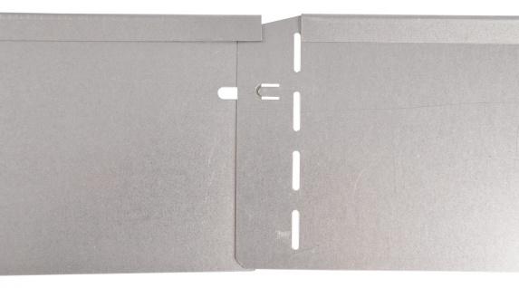 Bellissa Metall Rasenkante 118cm verzinkt Beetumrandung Beeteinfassung Mähkante - Vorschau 2
