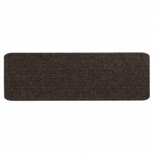 Stufenmatte Step choco 25x60cm Türmatten Schmutzfangmatte Fußabtreter Bodenmatte
