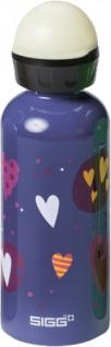 "SIGG SWITZERLAND SIGG Kids Bottle Teenager ,, Glow Heartballons"" 8505.60 Glow Heartb.0, 4l.8505.60"