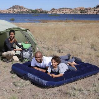 Doppel-Gästebett Luftmatratze Campingbett Doppelbett Luftbett Gäste Bett Camping - Vorschau 3