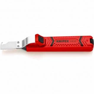 Kabelmesser, ohne Klinge, Hakenform, Kunststoff
