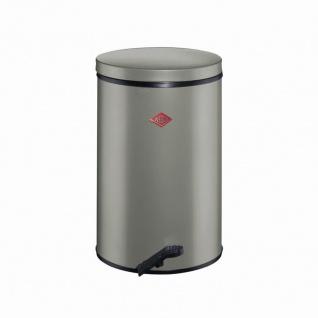 Treteimer Gastro 25l neusilber Mülleimer Abfalleimer Abfallsammler Müll Abfall