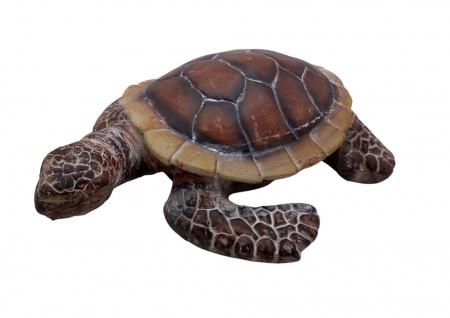 Deko Schildkröte 51cm Gartendeko Gartenfigur Teichfigur Landschildkröte Tierdeko - Vorschau 2