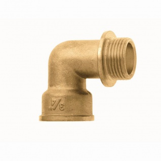 Messing Winkel 90°19mm Fittings Rohrsystem Befestigung Werkzeug Heimwerker TOP