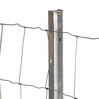Zaunpfahl Z-Profil 150cm 10 Stück Zaunpfosten Maschendraht Gartenzaun Zaun Zäune