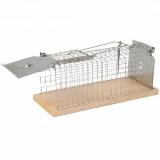 Ratten-Lebendfalle Gardigo Käfig Falle Garten Terrasse Schädlingsschutz Schutz