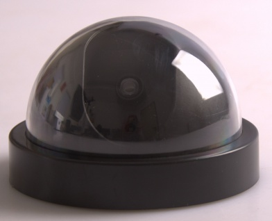 Sicherheitskamera-Attrappe mit rotem LED Dummy Fake Kamera keine Verdrahtung - Vorschau 2