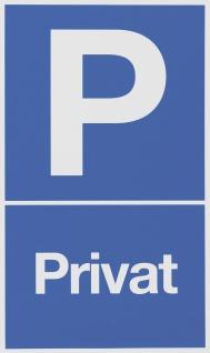 """METAFRANC SCHILD Hinweis-, Warn- und Verbotsschild ,, Parkplatz Privat"""" 500180 Parkplatz Privat"""