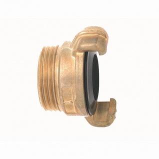 """Messing Gewindestück mit Aussengewinde 32mm (1 1/4"""") 32mm (1 1/4"""")"""