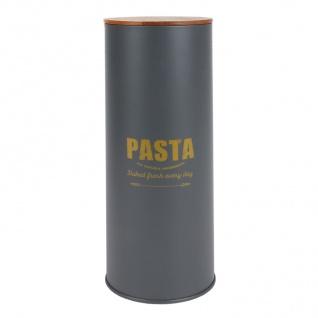 Vorratsdose Pasta Nudeldose Spaghettidose Pastadose Metalldose Dekodose 11x29cm
