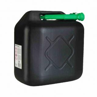 Kraftstoffkanister schwarz 20l Benzinkanister Reservekanister Kanister Auto PKW