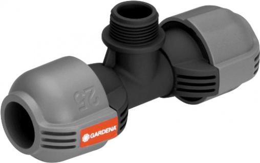 "Gardena T-Stück ,, Sprinkler-System"" 2787-20 Sprinkl.t-stueck 25"