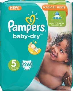 Pampers baby-dry 26er Gr.5 Junior 11-23kg Babywindeln Baby Windeln Windel