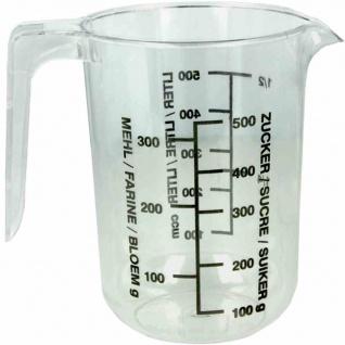 Messbecher transparent 0, 5 l