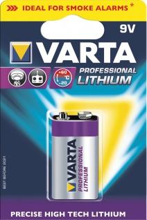 """VARTA Batterien ,, Ultra Lithium"""" 6122301401 Li-batter. 9v Block"""