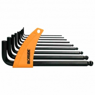 Stiftschlüssel-Set 9tlg Kugelkopf Stiftschlüssel Befestigung Werkstatt Werkzeuge