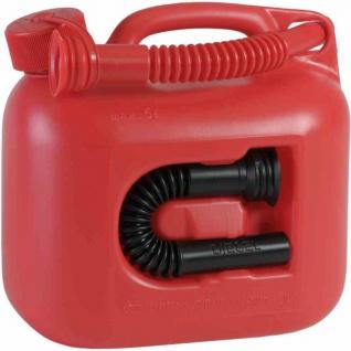 "Kraftstoff-Kanister 5 L "" Premium"", rot"