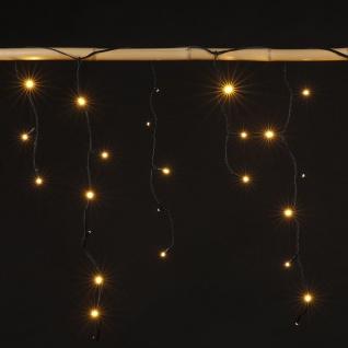 135 led lichtervorhang lichterkette warmwei weihnachten beleuchtung aussen deko kaufen bei. Black Bedroom Furniture Sets. Home Design Ideas