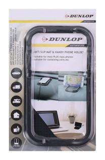 Dunlop Antirutschmatte Amaturenablage Handyhalter Brillenablage Ablage 18, 5x10cm