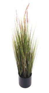 Künstliches Pampas-Gras 90cm Dekogras Grashalm Kunstpflanze Zimmerpflanze