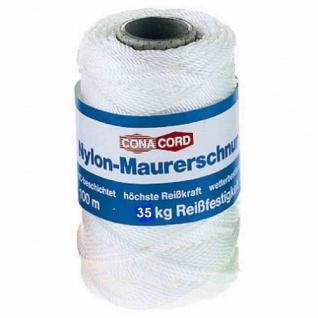 Maurerschnur weiß 100 m extra stark,Ø 1, 5 mm