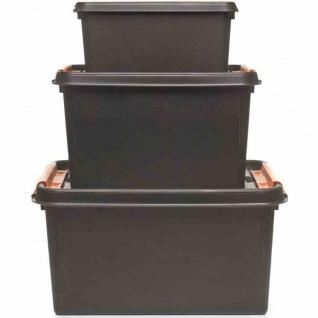 PROFI-Box 32l schwarz SmartStore Box Boxen Aufbewahrung Möbel Haushalt TOP NEU