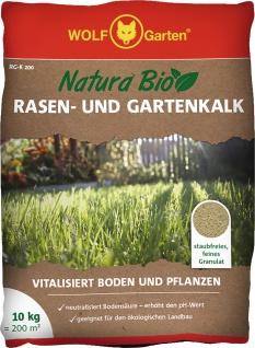 """Wolf WOLF Garten Rasen- und Gartenkalk ,, Natura Bio"""" 3734744 Rasen-gartenkalk Rg-k"""