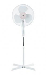 Standventilator Ø40cm Lüfter Ventilator Kühlung Gebläse Windmaschine Klimagerät